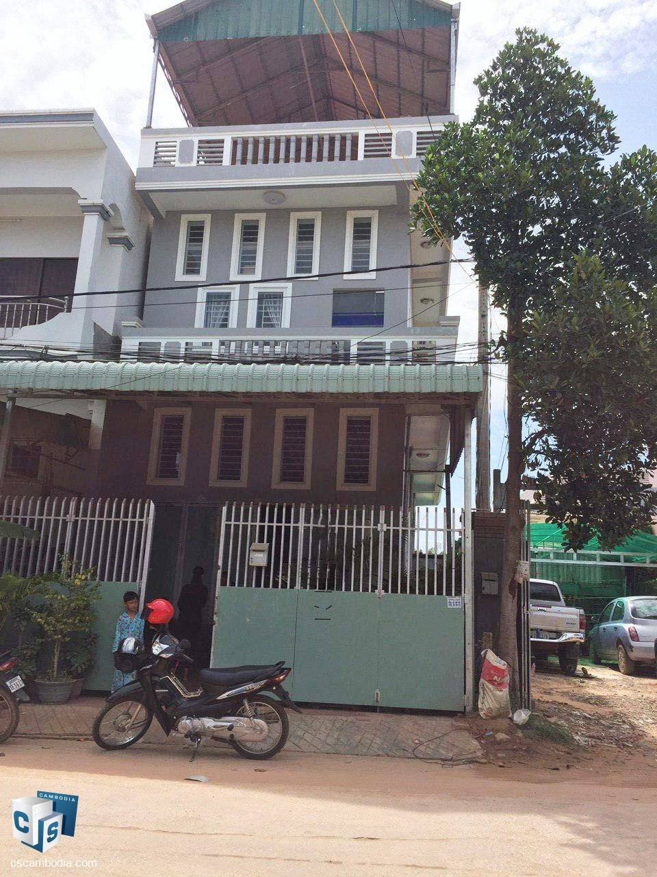 3 Bedroom House – For Sale – Taphul – Svay Dangkum – Siem Reap