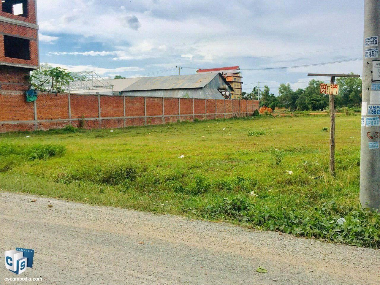 1,500 Sq Meters Of Land – For Sale – Svay Dangkum Village – Svay Dangkum  – Siem Reap