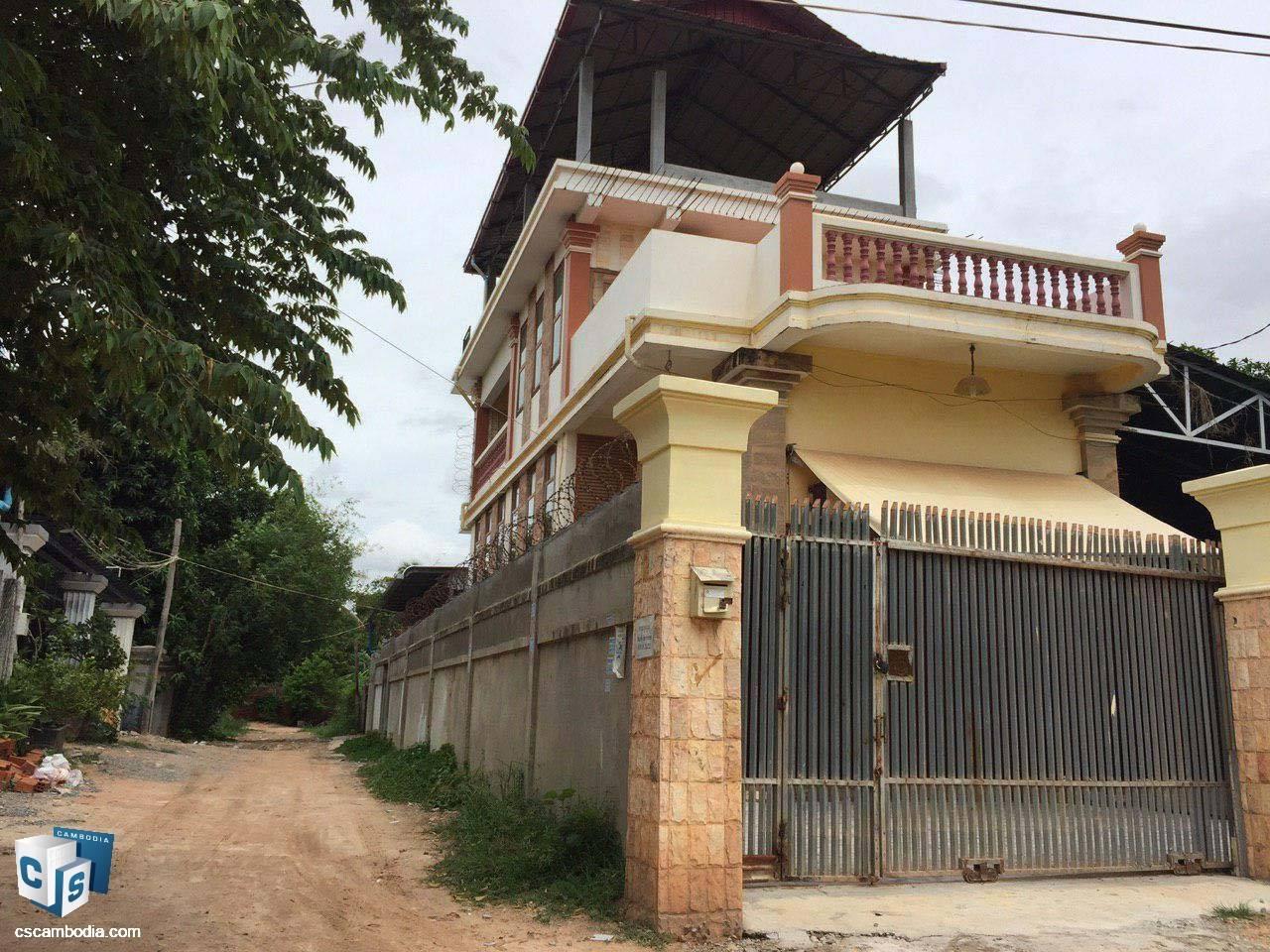3 Bedroom House – For Sale – Svay Dangkum – Siem Reap
