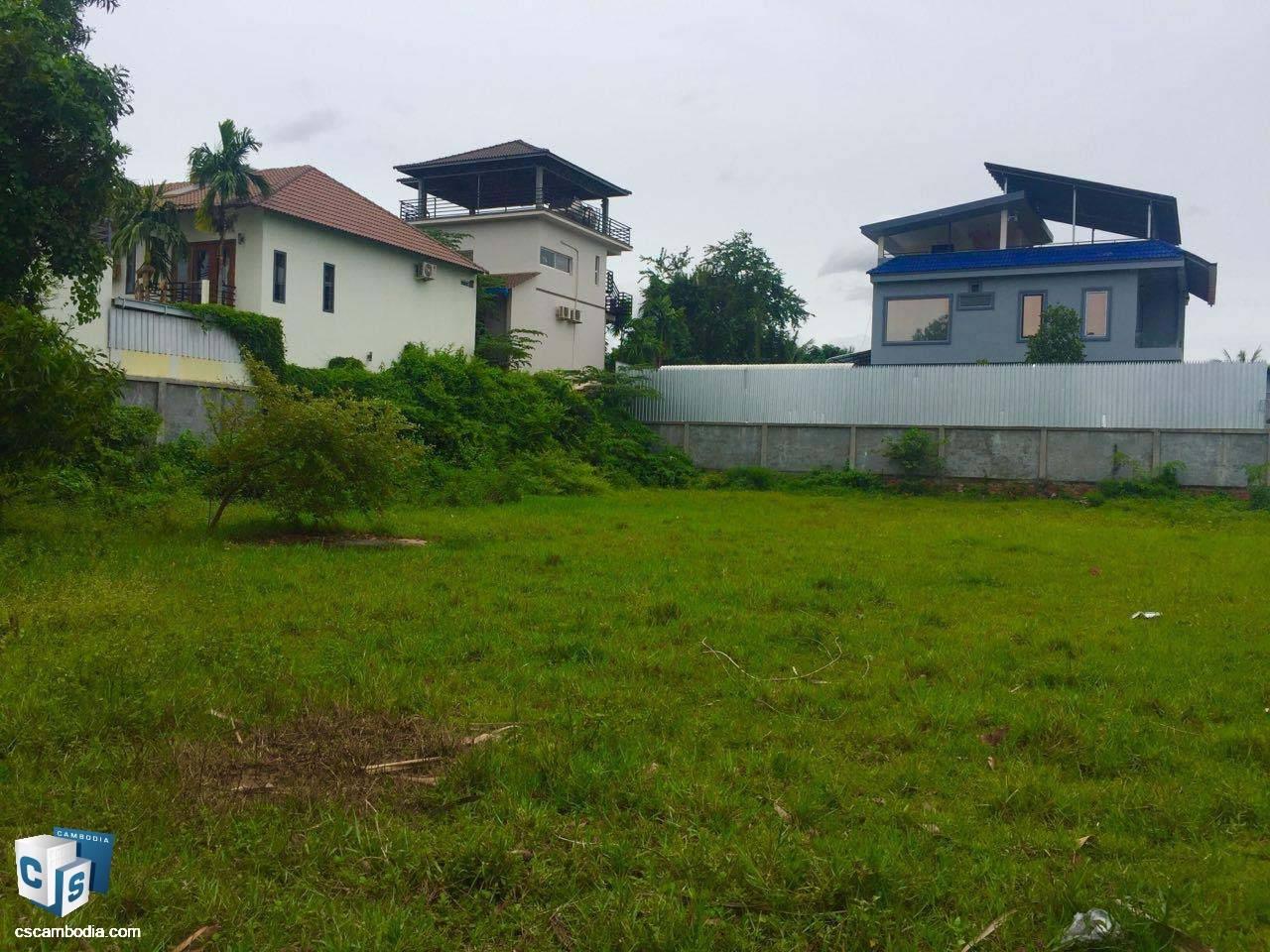 1,500 Sq Meters Of Land – For Sale – Svay Dangkum -Siem Reap
