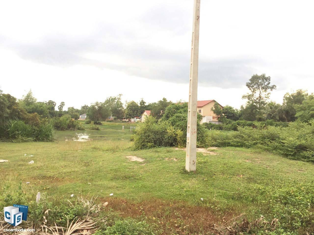 2,400 Sq Meters Of Land – For Sale – Sambor Village – Siem Reap