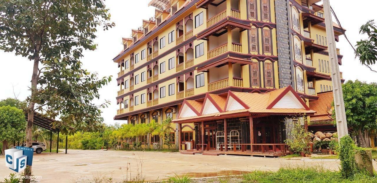 64 Bedroom Hotel – For Rent – Svay Dangkum Village – Svay Dankum Commune – Siem Reap