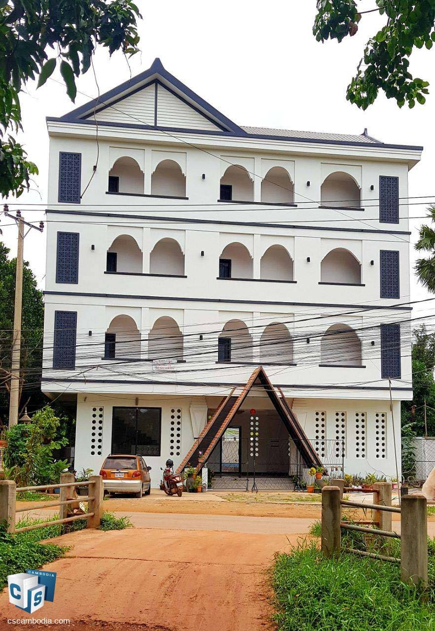 23 Room Hotel – For Rent – Sala Kamreuk Village – Sala Kamreuk Commune – Siem Reap