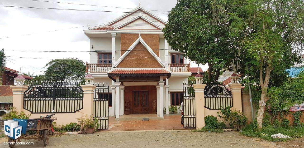 4 Bedroom House– For Rent – Kok Chork Commune – Siem Reap