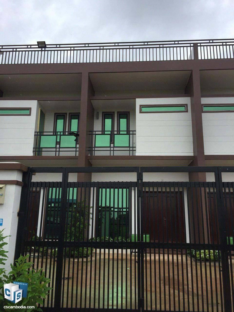 2 Bedroom Flat house – For Rent – Khnar Village – Chreav Commune – Siem Reap