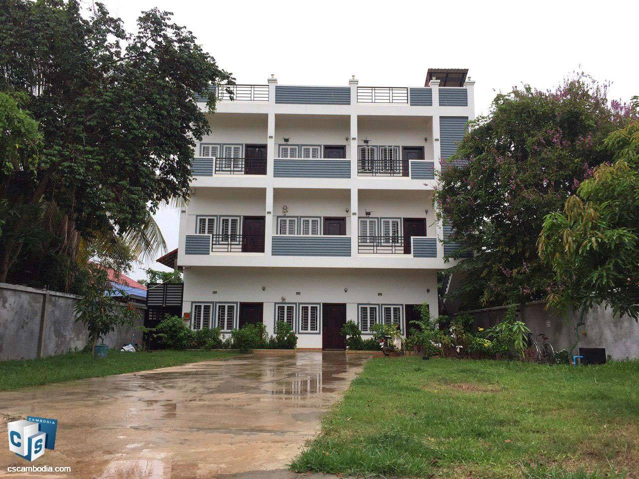 9 unit apartment bulding – For Sale – Treang Village – Sla Kram– Siem Reap