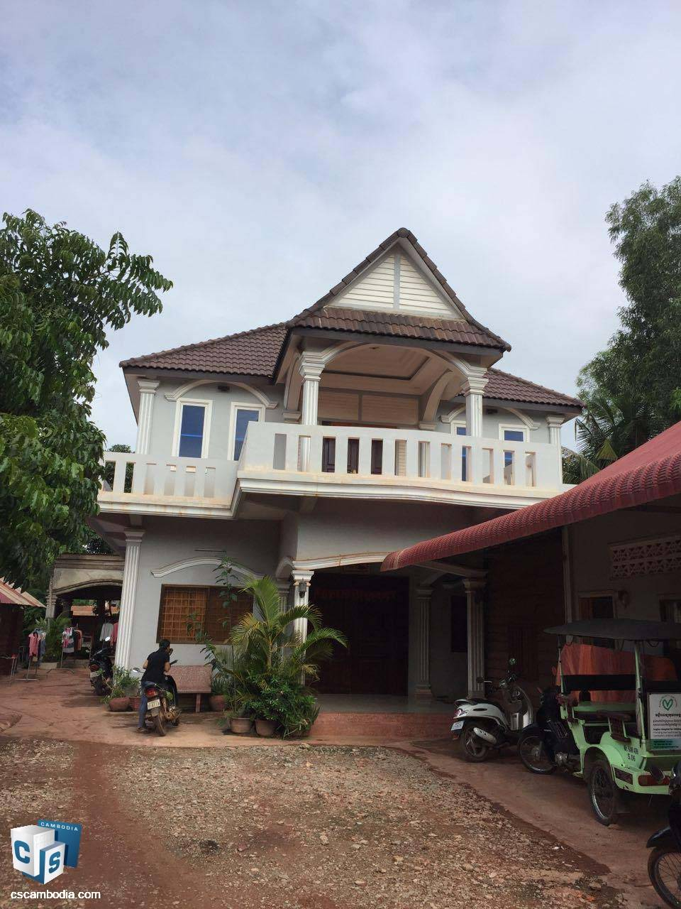 6 Bedroom House – For Sale – Sala Kanseng Village – Svay Dangkum Commune – Siem Reap
