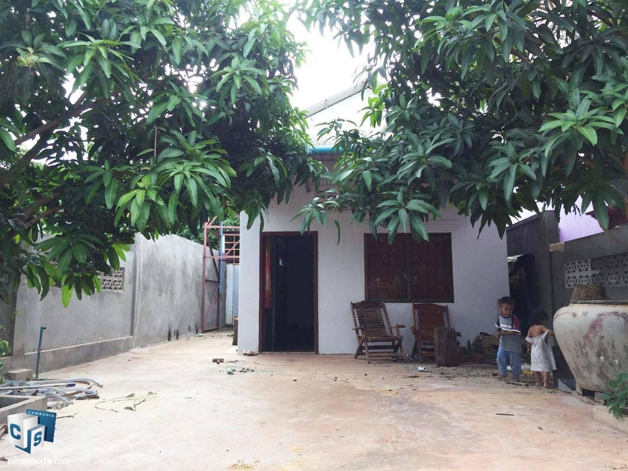 1 Bedroom House – For Rent – Kruos Village – Svay Dangkom Commune – Siem Reap