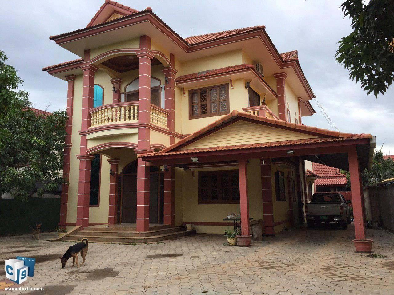 5 Bedroom House – For Rent – Svay Dangkom Commune – Siem Reap