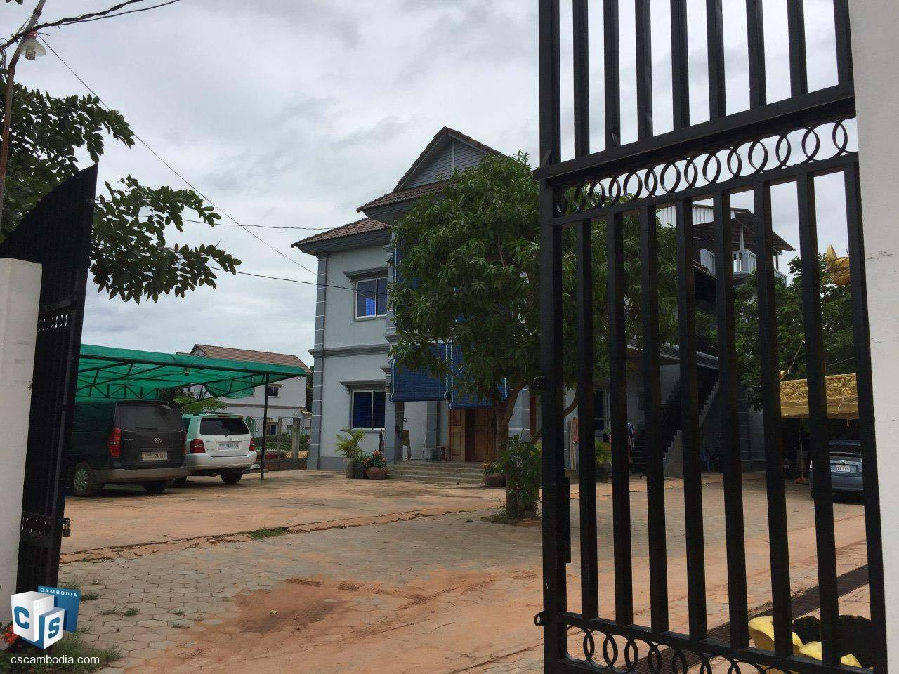 3 Bedroom House Second Floor– For Rent – Svay Dangkum Commune – Siem Reap