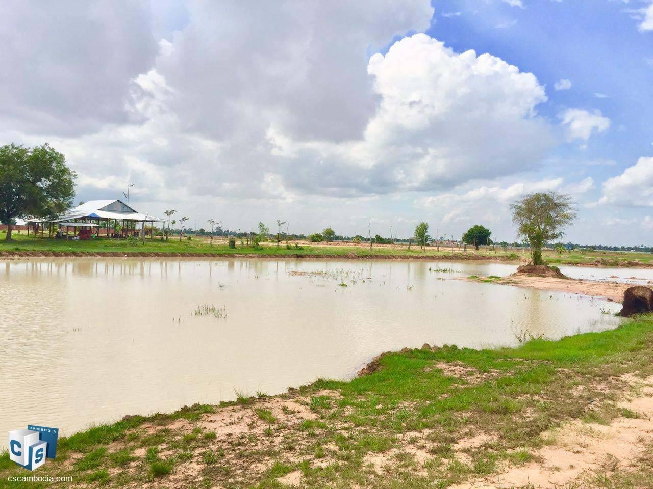 5,182 Sq M Land – For Sale – Prasat Bakong Commune – Siem Reap