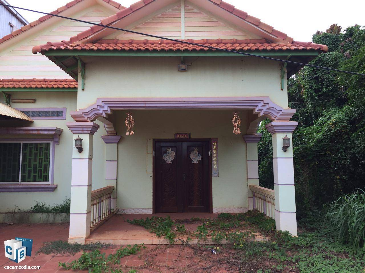 3 Bedroom House – For Rent – Phnea Chey Village – Svay Dangkum Commune – Siem Reap