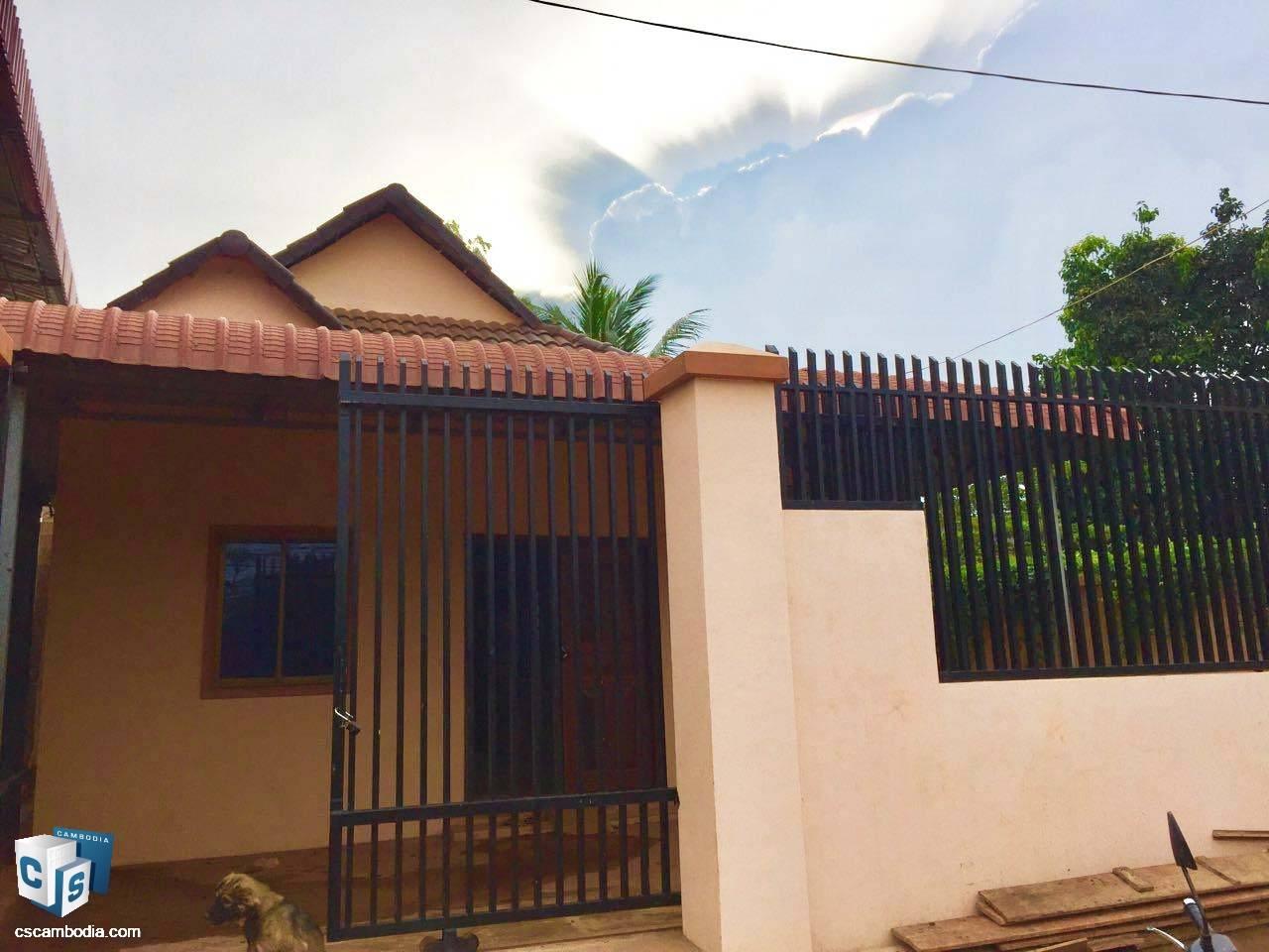 1 Bedroom House – For Rent – Phnea Chey Village – Svay Dangkum Commune – Siem Reap