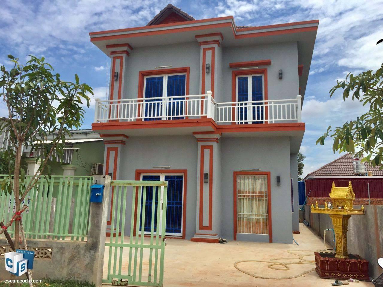 3 Bedroom House – For Sale –Kantrak Village – Svay Dangkum Commune – Siem Reap