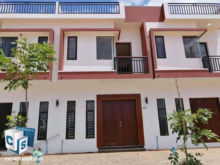 2 Bedroom House – For Rent –Sambor Village – Sambor Commune – Siem Reap