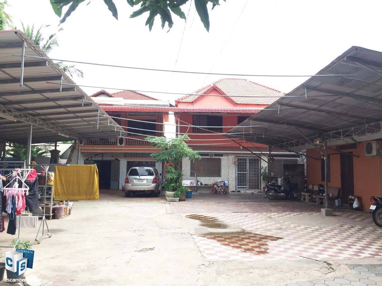 3 Bedroom House – For Rent – City Center – Siem Reap