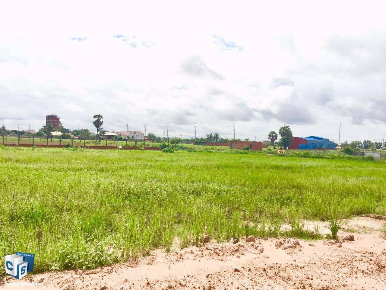 2,409 Sq Meters Of Land – For Sale – Khnar  Village –Chreav Commune– Siem Reap