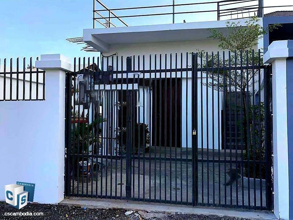 1 Bedroom House – For Rent – Sala Kangseng Village – Svay Dangkum Commune – Siem Reap