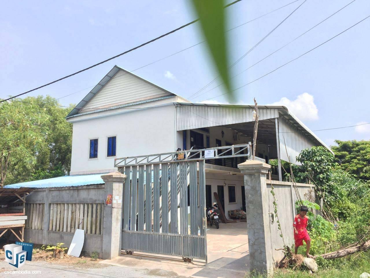 8 Bedroom House – For Sale- Sala Kanseng  Village – Svay Dangkom Commune – Siem Reap