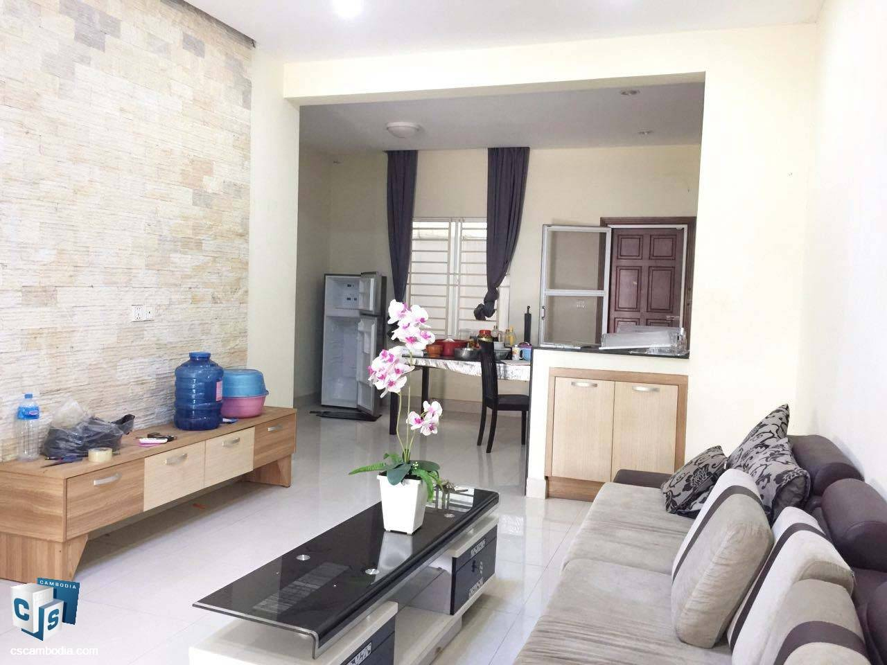 3 Bedroom House – For Rent- Kruos Village – Svay Dangkom Commune – Siem Reap