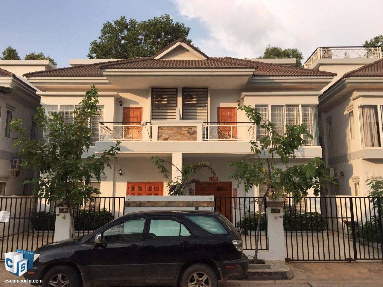 4 Bedroom House – For Rent- Kruos Village – Svay Dangkom Commune – Siem Reap