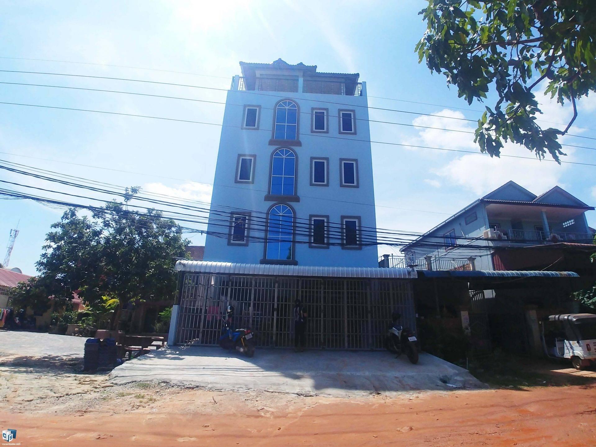 17 Bedroom Apartment – For Rent – Svay Dangkom Commune – Siem Reap