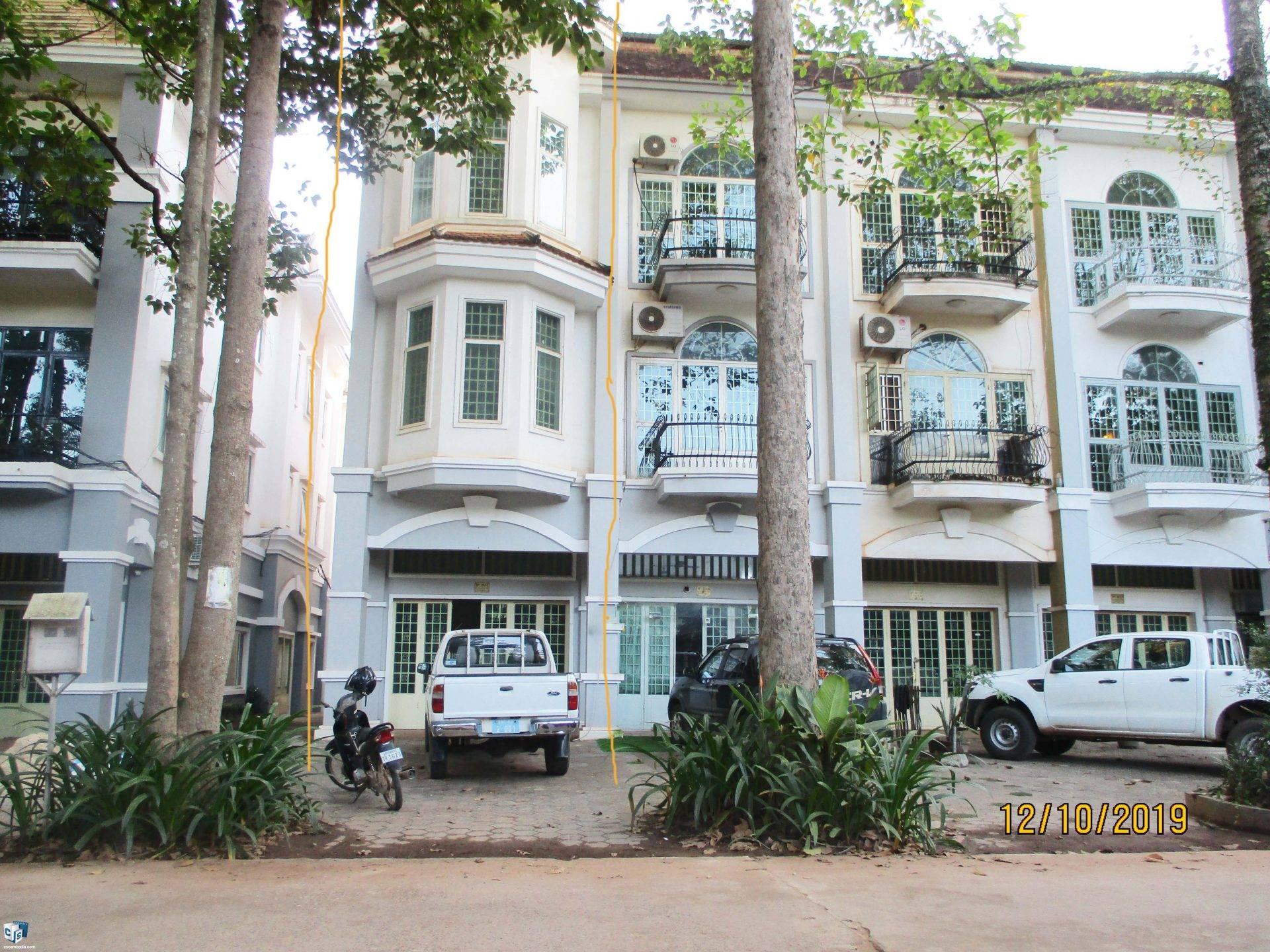 4 Bedroom House – For Sale – Kok Chork Commune – Siem Reap