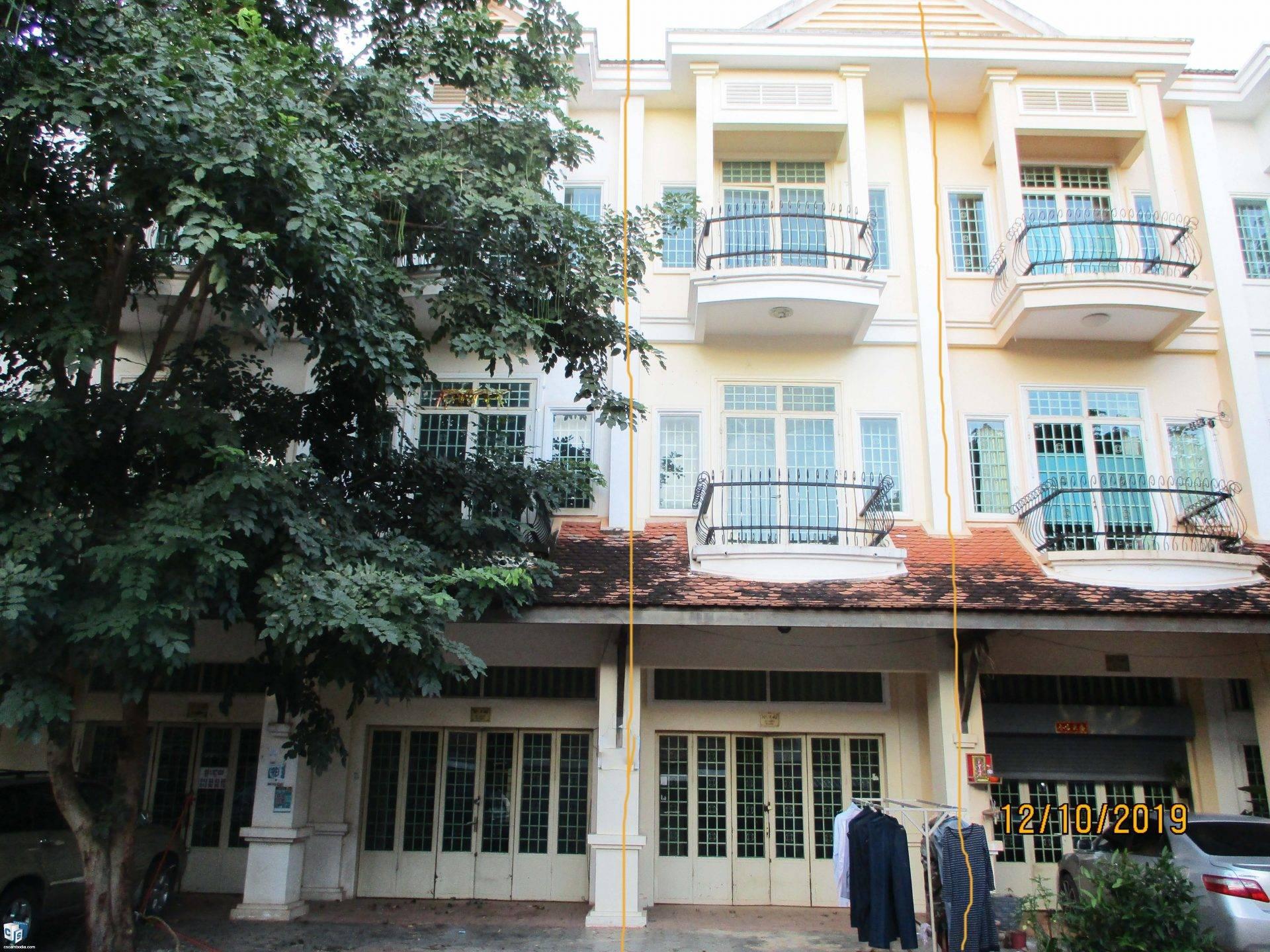 4 Bedroom House – For Rent – Kok Chork Commune – Siem Reap