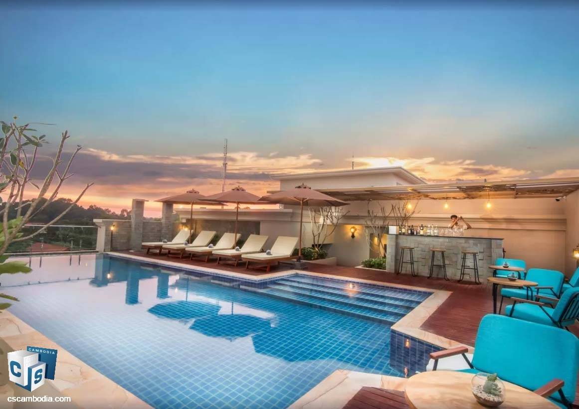 17 Bedroom Hotel – For Sale- Sla Kram Commune, Siem Reap