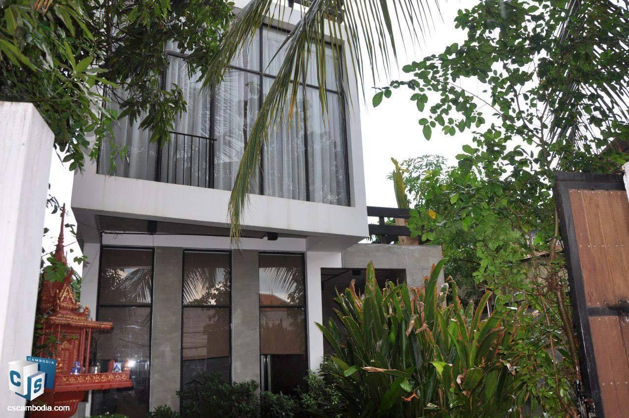 4 Bedroom House – For Sale – Sala Kanseng Village – Svay Dangkum – Siem Reap