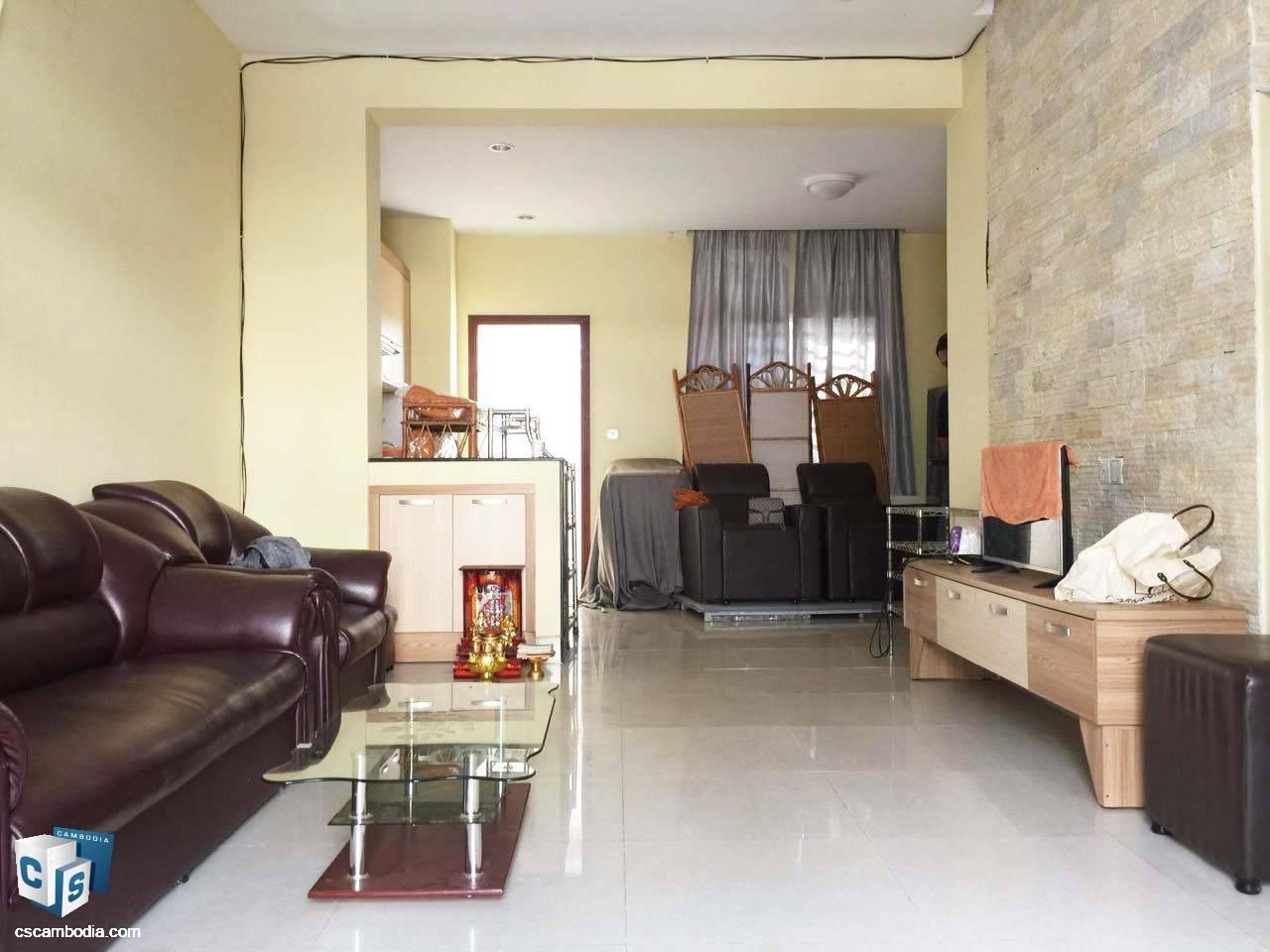 3 Bedroom House – For Rent- Kruos Village – Svay Dangkom Commune – Siem Reap