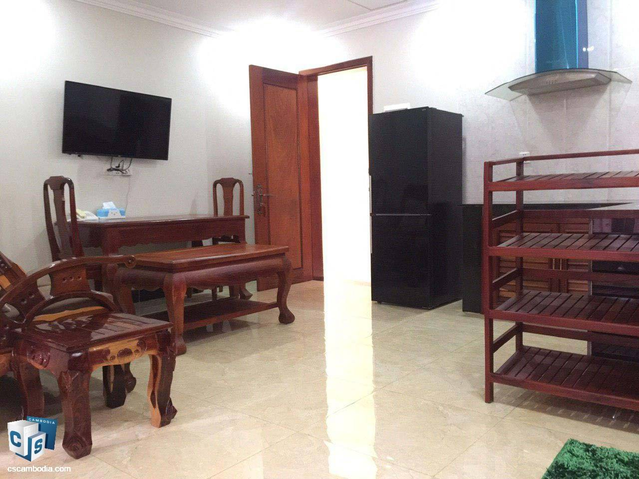1 Bedroom Apartment – For Rent- Taphul Village – Svay Dangkom Commune – Siem Reap