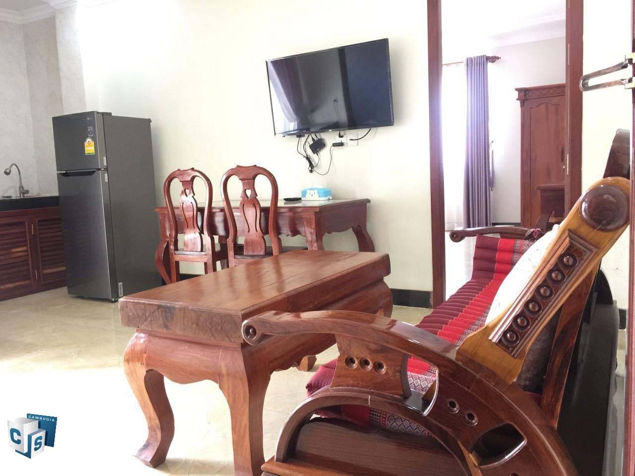 1 Bedroom Apartment – For Rent- Taphul Village – Svay Dangkom Commune – Siem Reap