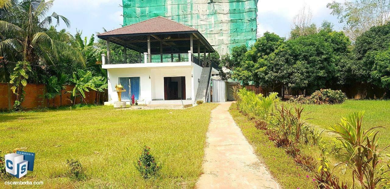 2 Bedroom House – For Rent– Trapeang Traeng  Village – Sala Kamreuk Commune – Siem Reap