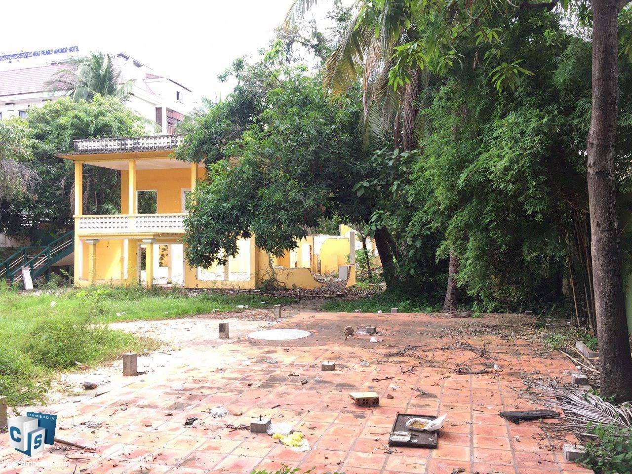 1,825 Sq Meters Of Land – For Sale – Kruos  Village – Svay Dangkum Commune – Siem Reap