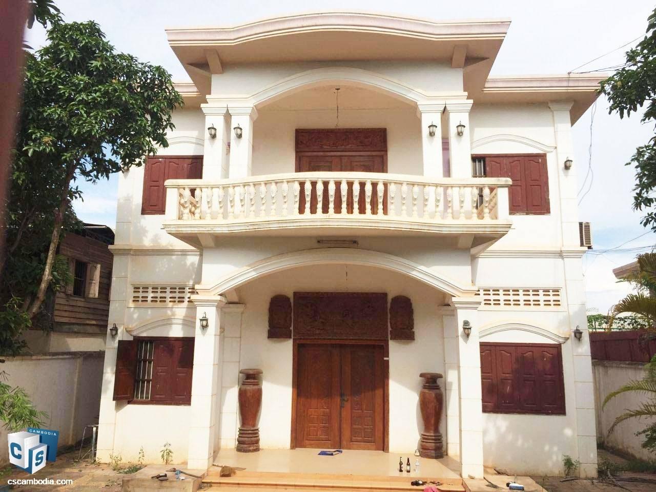6 Bedroom House – For Rent– Svay Dangkom Commune– Siem Reap