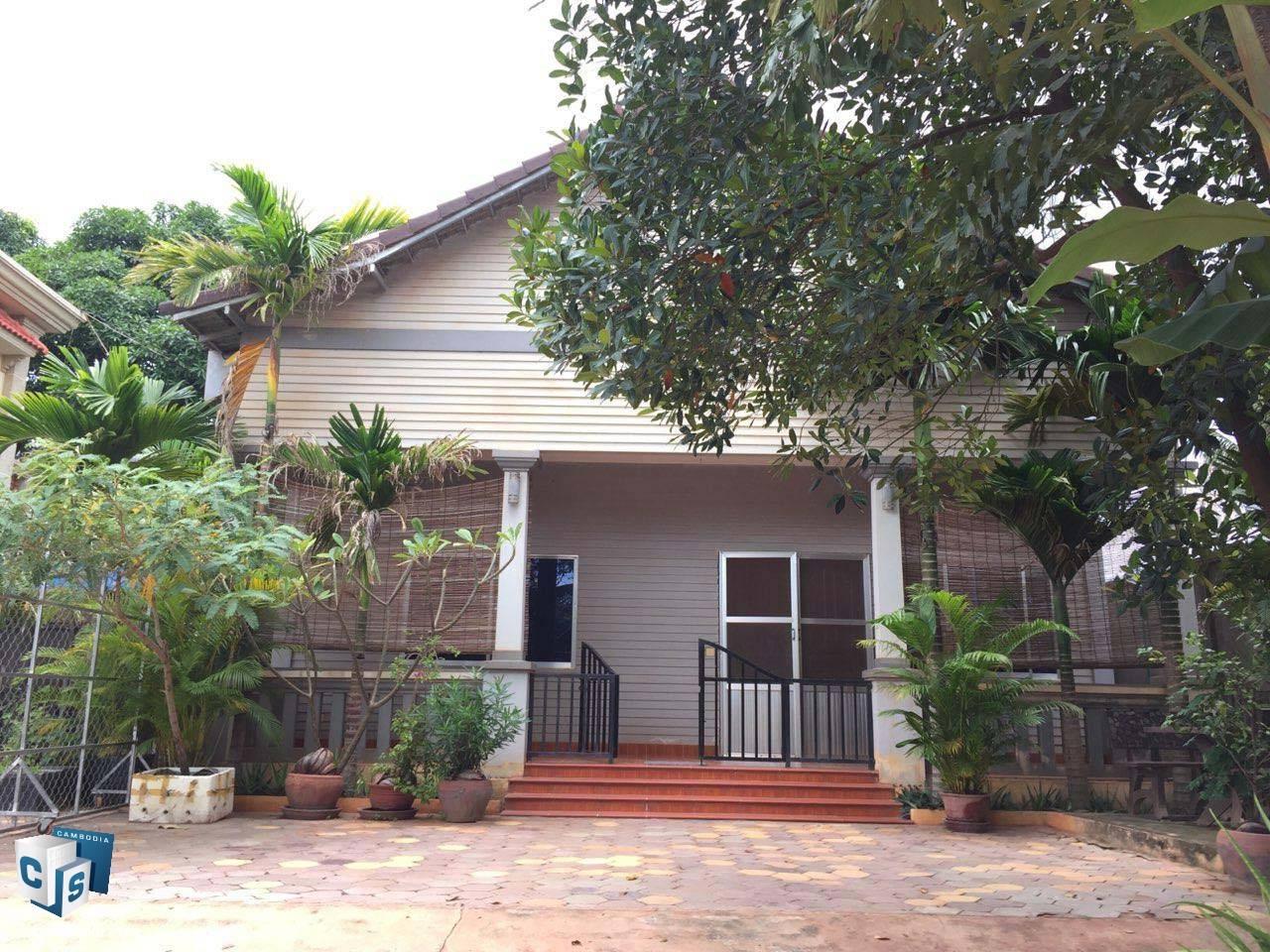 2 Bedroom House – For Rent – Sla Kram Commune – Siem Reap