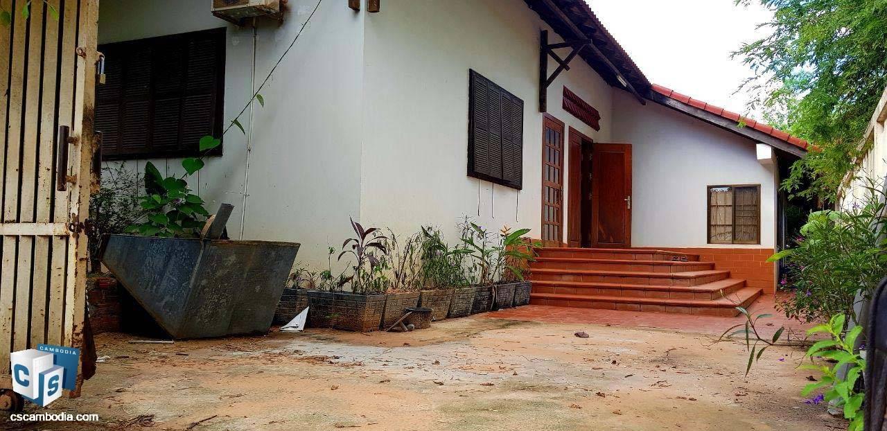 3 Bedroom House – For Rent -Kok Chok Commune-Siem Reap