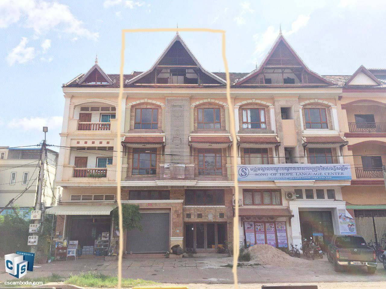 Commercial House – For Rent –  Sla Kram Commune – Siem Reap