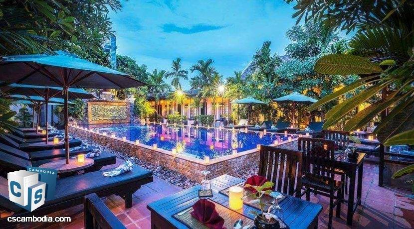 25 Room Hotel – For Sale – Sala Kamreuk Commune – Siem Reap
