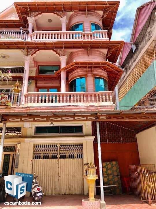5 Bedroom House – For Sale – In Steung Meanchey Commune  –Phnom Penh
