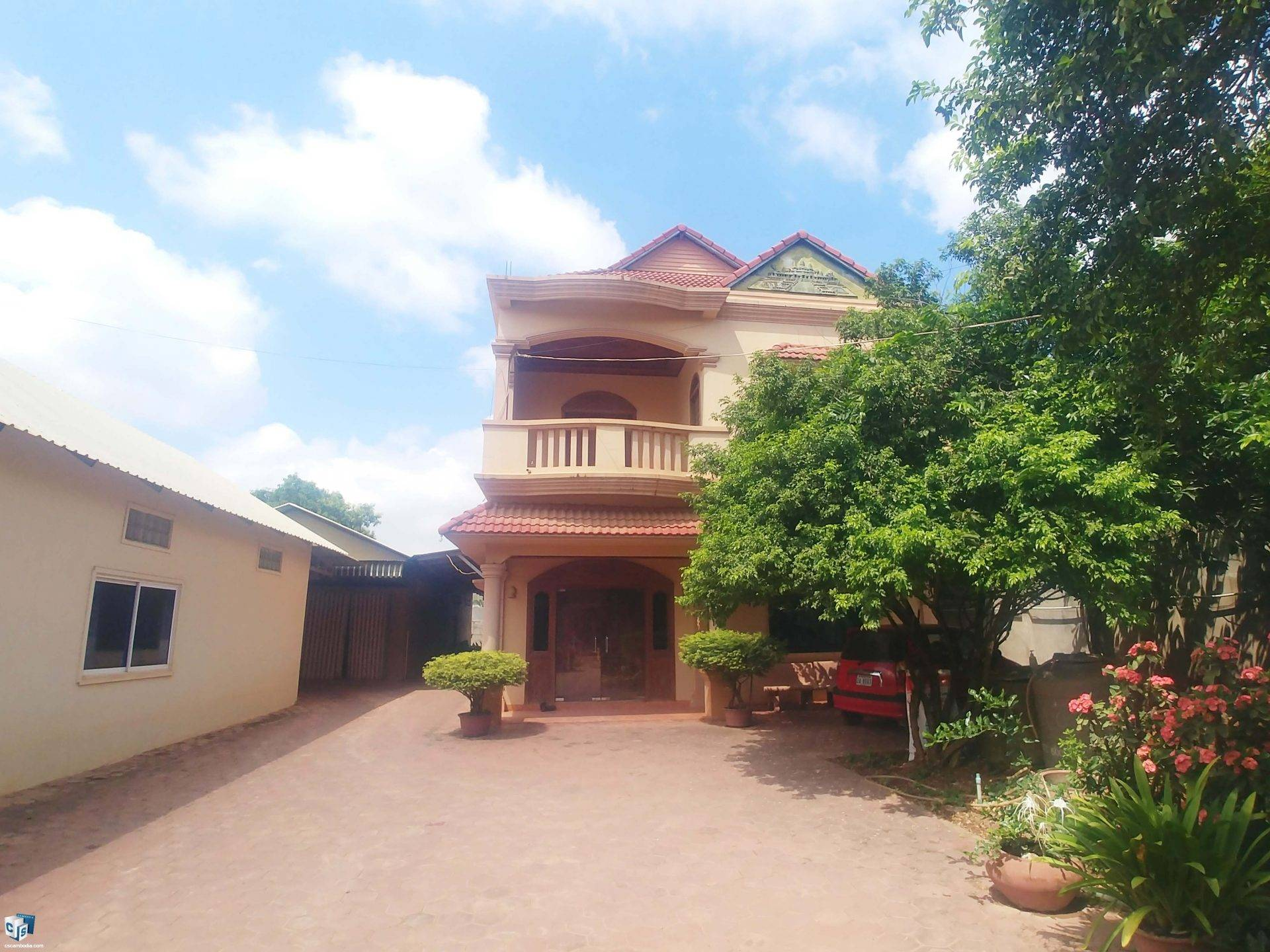 6 Bedroom House– For Rent – Sala Kamreuk Commune – Siem Reap