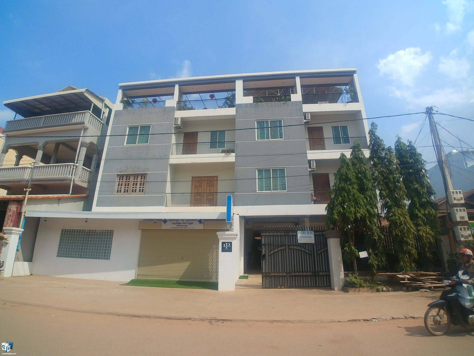 1 Bedroom Apartment – For Rent – Kok Chork Commune – Siem Reap