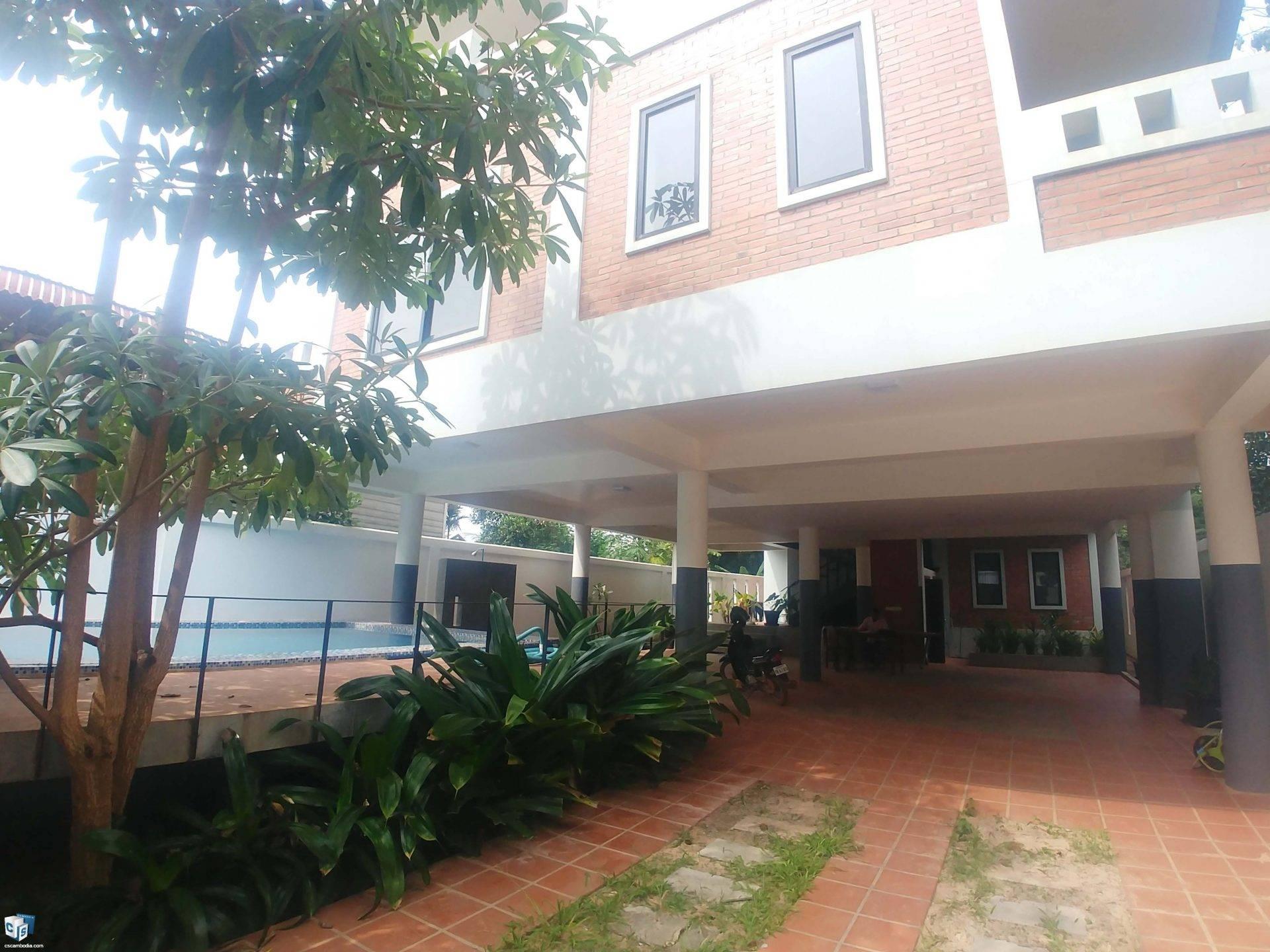 7 Unit Apartment – For Rent – Sla Kram Commune – Siem Reap