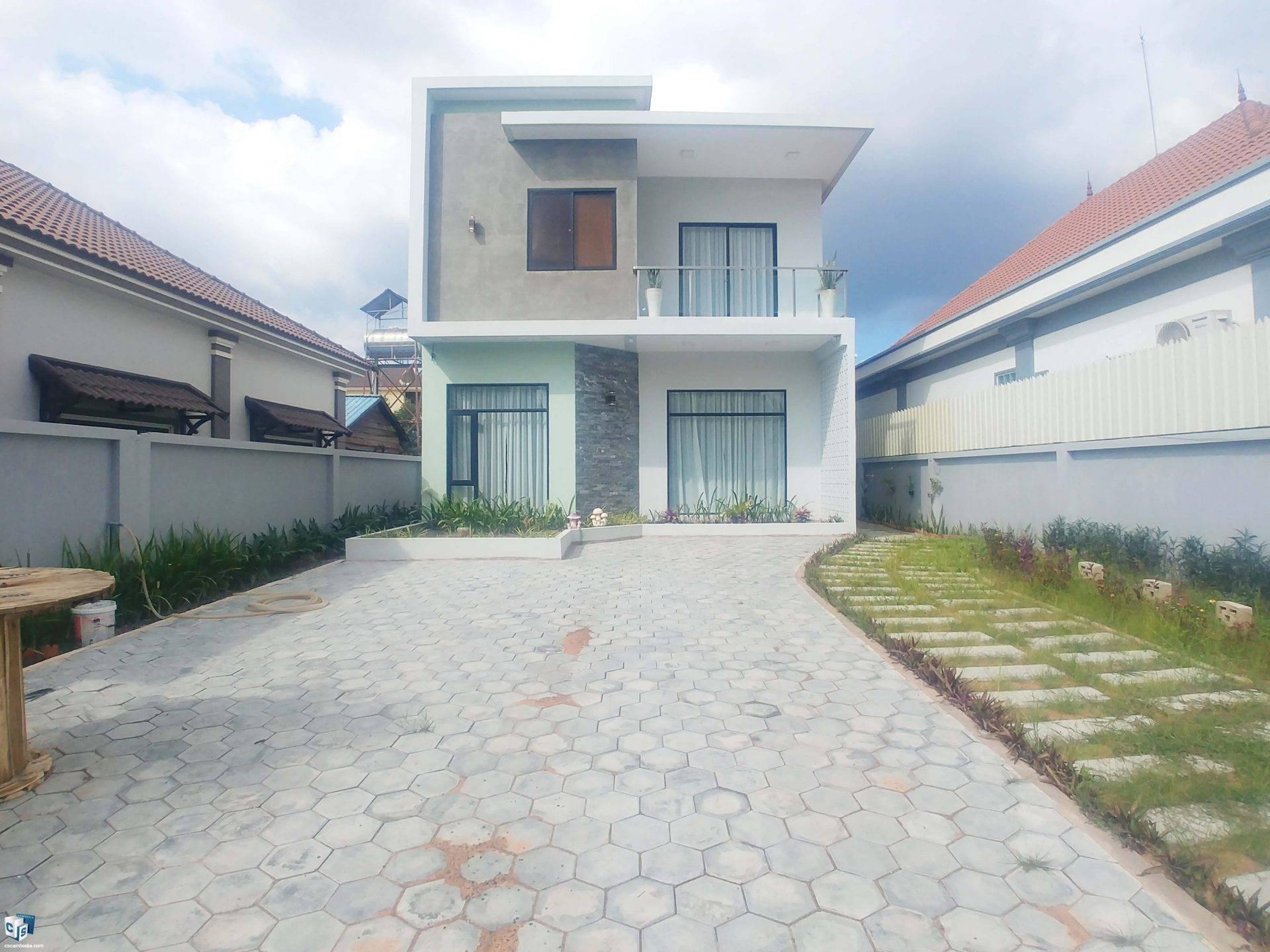 2 Bedroom House – For Rent – Svay Dangkum Commune – Siem Reap