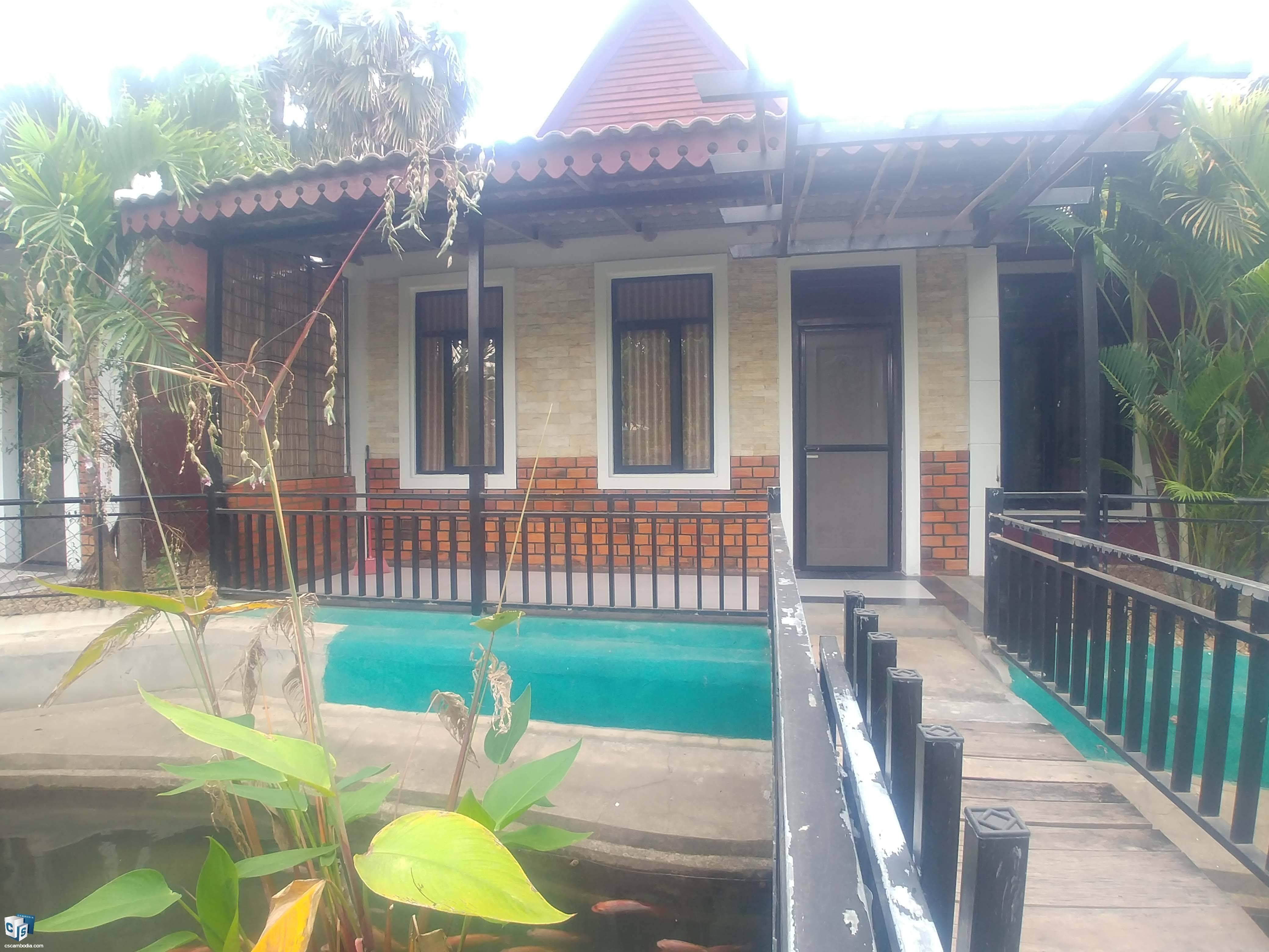 1 Bedroom Apartment- For Rent- Sala Kamreuk Commune, Siem Reap