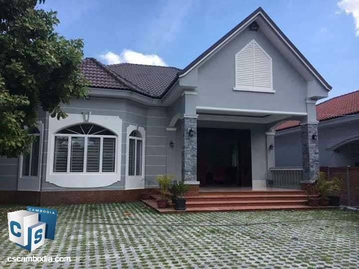 2 Bedroom House – For Rent- Sla Kram Commune – Siem Reap