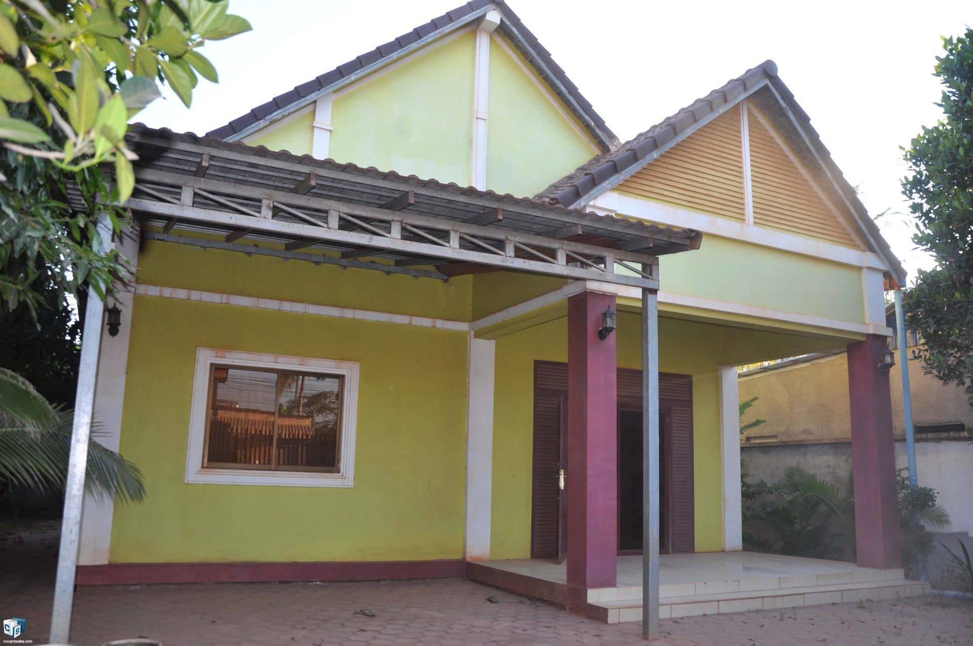 4 Bedroom House – For Rent – Svay Dangkum Commune – Siem Reap