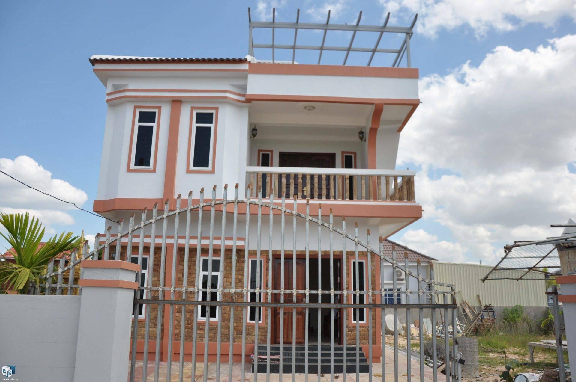 3 Bedroom House – For Rent –  Kaksekam Commune – Siem Reap