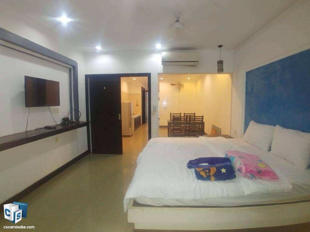 1 Bedroom Apartment – For Rent – Svay Dangkum Commune – Siem Reap